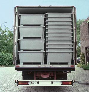 Transpordi ja ladustamise konteiner ETB 300l